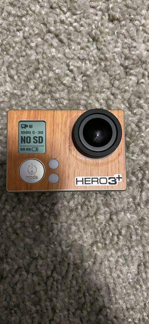 GoPro Hero 3+ for Sale in Colorado Springs, CO
