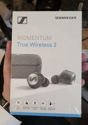 Sennheiser M31ETW2 Momentum True Wireless 2 In-ear Headphones New Sealed for Sale in Glendale, CA
