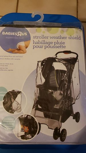 Babies R Us stroller weather shield for Sale in Lake Worth, FL
