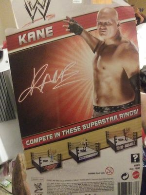 "Unopened ""Kane"" WWE action figure 2011 Collection for Sale in Wahneta, FL"