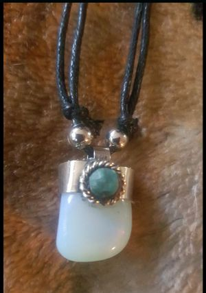 Unisex adjustable necklace moonstone from Machu Picchu Peru for Sale in Los Angeles, CA