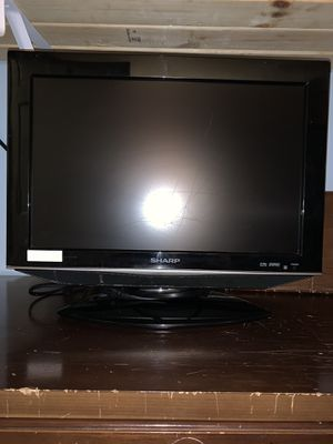 "Sharp LCD HD TV 19"" Screen - Model LC-19SB25U for Sale in Judson, IN"