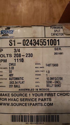 208/230V, 3/4HP, RPM1110 for Sale in San Antonio, TX