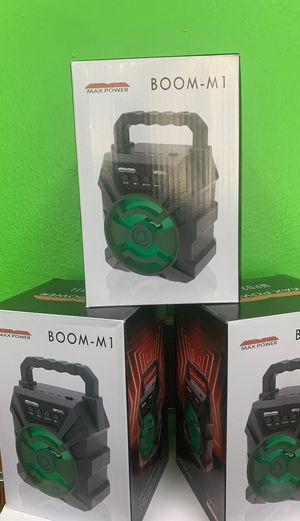 Boom M 1 Bluetooth speaker for Sale in Victoria, TX