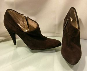 New Guess Brown Suade High Heels Size 7 1/2 for Sale in St. Louis, MO