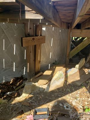 Free pool framing Free wood for Sale in Holts Summit, MO