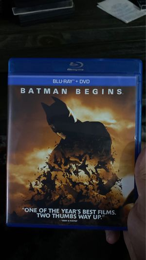 Batman begins Blu-ray dvd for Sale in Paramount, CA