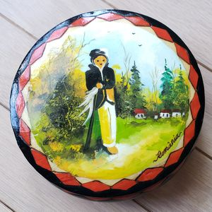 Handmade Wooden Keepsake Box from Romania for Sale in Gaithersburg, MD