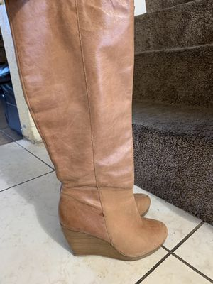 Aldo leather boots size 6.5 for Sale in Henderson, NV