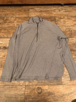 Patagonia long sleeve quarter zip shirt size large for Sale in Stockton, CA