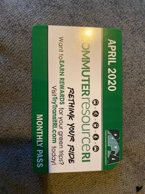Monthly Bus Pass for Sale in Cumberland, RI