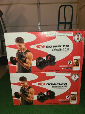Bowflex SelectTech 552 Dumbells Pair New for Sale in Westminster, CA