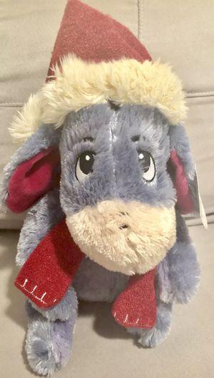 "BNWT! Disney 12"" Plush Whip Stitch Eeyore Christmas Doll from Winnie the Pooh for Sale in Orange Park, FL"