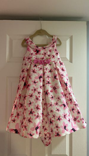 Little girls gown dress - floral print pink flowers - size 5 - Pippa & Julie for Sale in Queens, NY