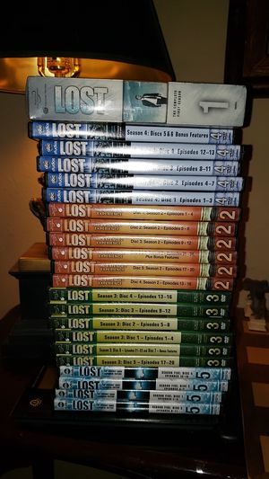 Lost seasons 1 - 5 Complete for Sale in O'Fallon, IL