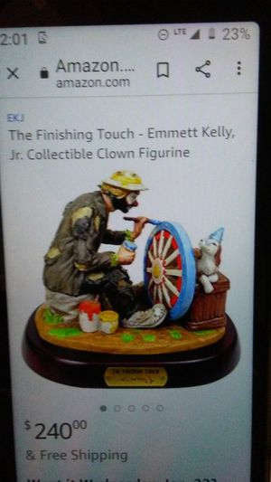 Emmet Kelly Finishing Touch for Sale in Fort Wayne, IN