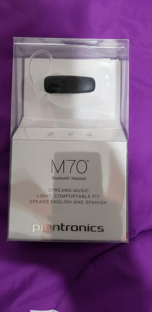 Plantronics Bluetooth Headset for Sale in Houston, TX