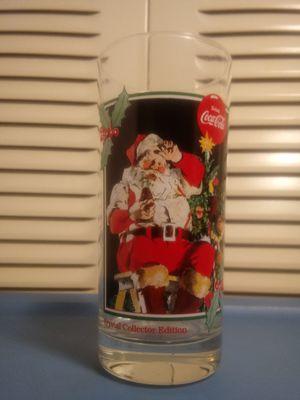 Coca Cola santa Claus glass for Sale in TWN N CNTRY, FL