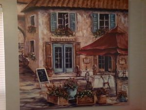 Oil Painting ...sorry couldn't get the whole pic with this camera for Sale in Centreville, VA