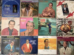 Lot of 12 Perry Como Vinyl Records for Sale in Chino Hills, CA