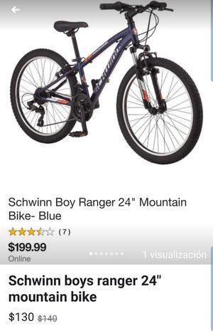 "Schwinn boy ranger 24"" mountain bike for Sale in Austin, TX"