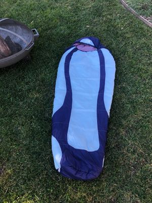 The North Face Blue Ridge 20F/-7C H.O.T.SL youth sleeping bag for Sale in San Diego, CA
