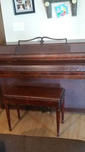 Wurlitzer piano for sale for Sale in Topeka, IL