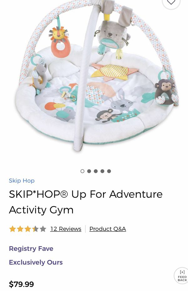 Skip Hop Up for Adventure Activity Gym/Mat for Baby for Sale in Downers  Grove, IL - OfferUp