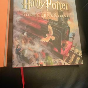Harry Potter Illustrated Hardcover Books(1 And 2) for Sale in Tualatin, OR