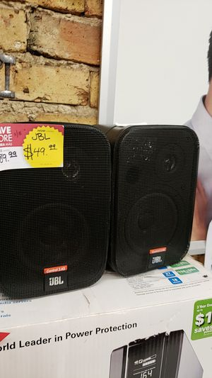 JBL Control 2.4G Speakers for Sale in Chicago, IL