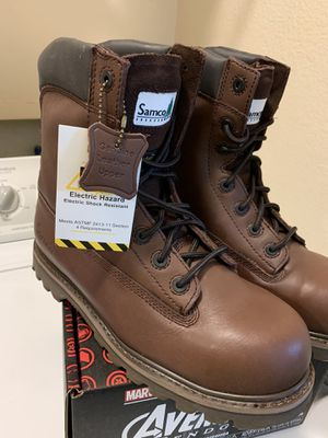 New Samco Freezer Work Boots . 🥾🥾 Size 10 for Sale in Adelanto, CA