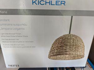 New Kichler Raffiana Light Olde Bronze Coastal Bowl Pendant Light for Sale in Nashville, TN