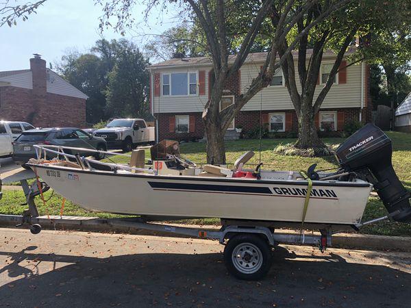 Grumman boat, 15ft