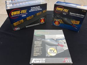 Qwik-Fill by Flow-Rite- On-board battery watering system for RV for Sale in Heath, OH
