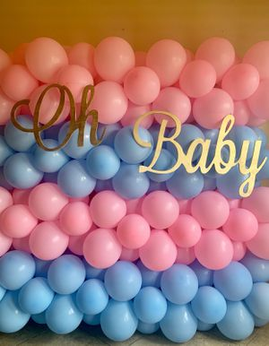 Balloon Wall/ Gender Reveal / Balloon Decorations for Sale in Los Angeles, CA