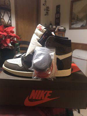 Travis Scott x Air Jordan 1 (DS) Size 10 for Sale in Irving, TX