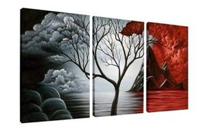 The Cloud Tree Wall Art Oil Painting Landscape Canvas Prints for Home Decorations Living Room Decor for Sale in Elizabethtown, KY