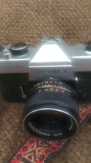 Yashica 50mm lens film camera for Sale in Baltimore, MD