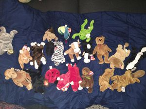 Beanie babies pvc original for Sale in Cordova, TN