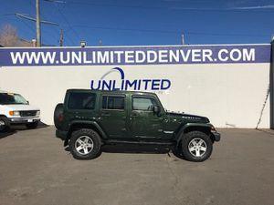 2012 Jeep Wrangler Unlimited for Sale in Denver, CO