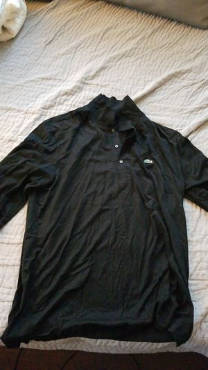 Lacoste long sleeve polo L for Sale in Gardena, CA