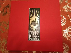 Disney 50th Anniversary Musical History of Disneyland CD Box set LMTD Ed. for Sale in Cameron Park, CA