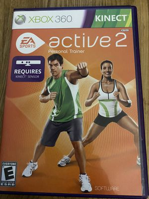 XBOX 360 Active 2 Personal Trainer game for Sale in Holly Springs, NC