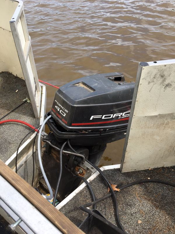 LANDAU 24 FT PONTOON BOAT AND TRAILER COMBO WITH 40HP MOTOR RUNNING WATERCRAFT FISHING DECK BOAT FAMILY OUTBOARD