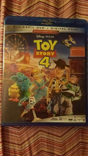 Toy story 4 blue ray / dvd combo new for Sale in Fayetteville, AR