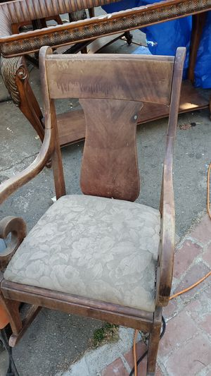 solid wood antique chair for Sale in Pomona, CA