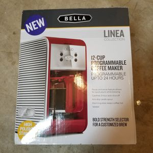 Bella coffee maker for Sale in Cypress, TX