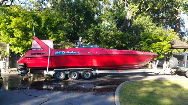 I have a 1988 Chris Craft Stinger offshore twin-engine TEQUILA SUNRISE MOVIE ACTUAL BOAT. Best offer gets this boat