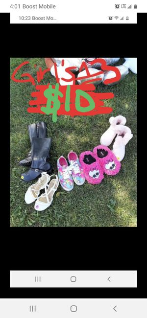 Girls size 13 shoe lot good condition for Sale in Saint Thomas, PA