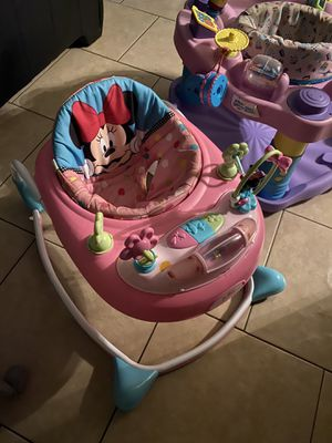 Baby walker/ bouncer/ other baby things for Sale in Mesa, AZ